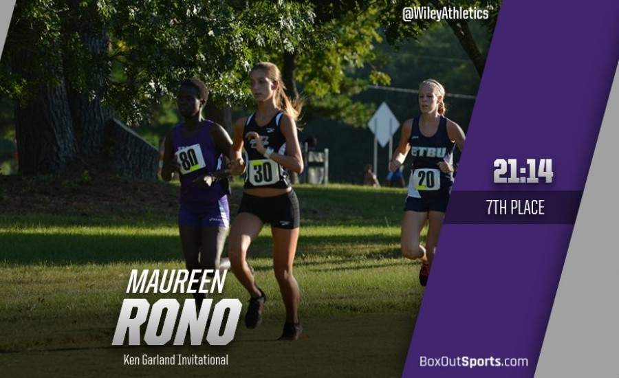 Maureen Rono led the Lady Wildcats with a seventh-place finish