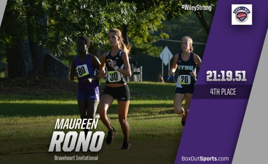 Maureen Rono finished fourth at the Braveheart Invitational Friday.