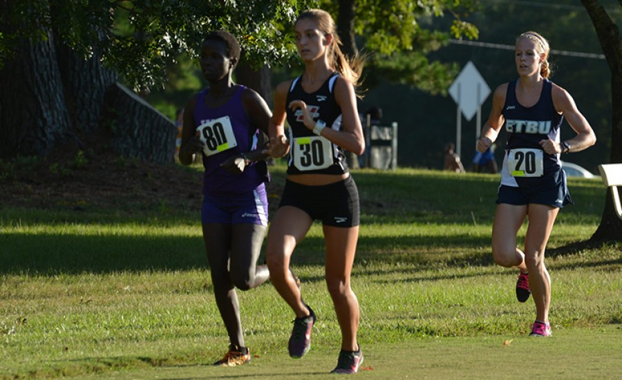 Maureen Rono finished fourth out of 70 runners. (UT-Tyler Athletics)