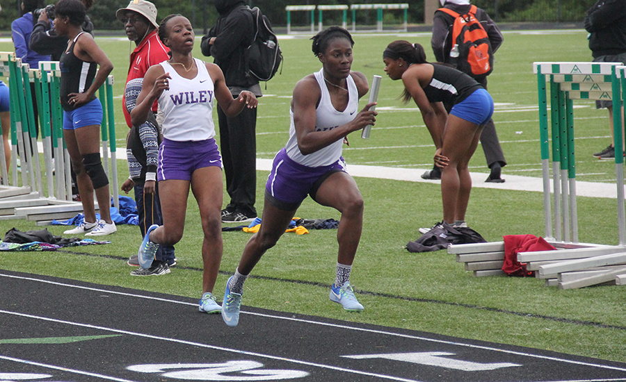 The Lady Wildcats have best 4 x 400-meter relay time